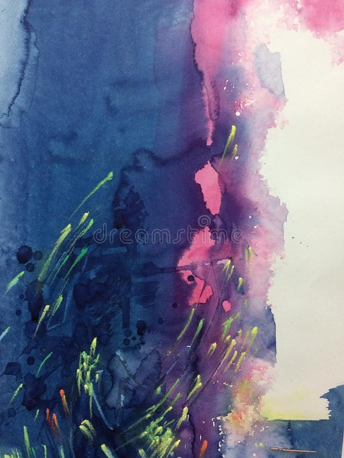 watercolor images stock