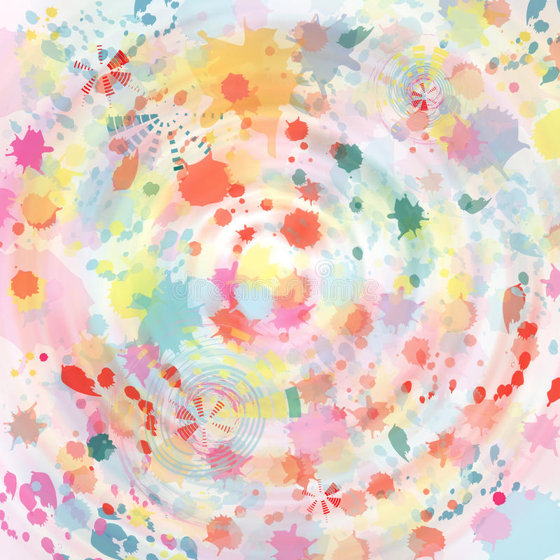 Download Watercolor Abstract Background Stock Illustration - Image: 29325666