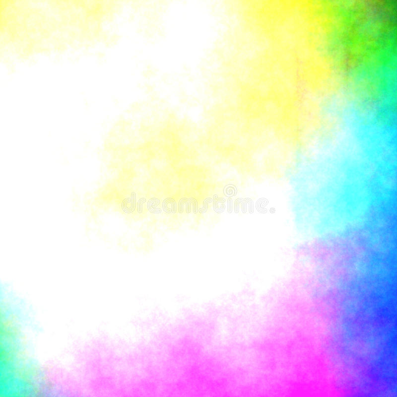Watercolor or airbrush background - mix colors. Colors watercolor airbrush background mix colors stock illustration