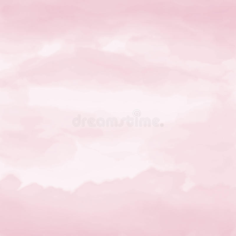 Watercolor artistic hand-painted pink textured abstract background royalty free stock image