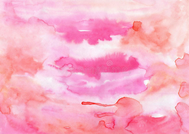 Watercolor artistic handmade painting texture for different desi royalty free illustration