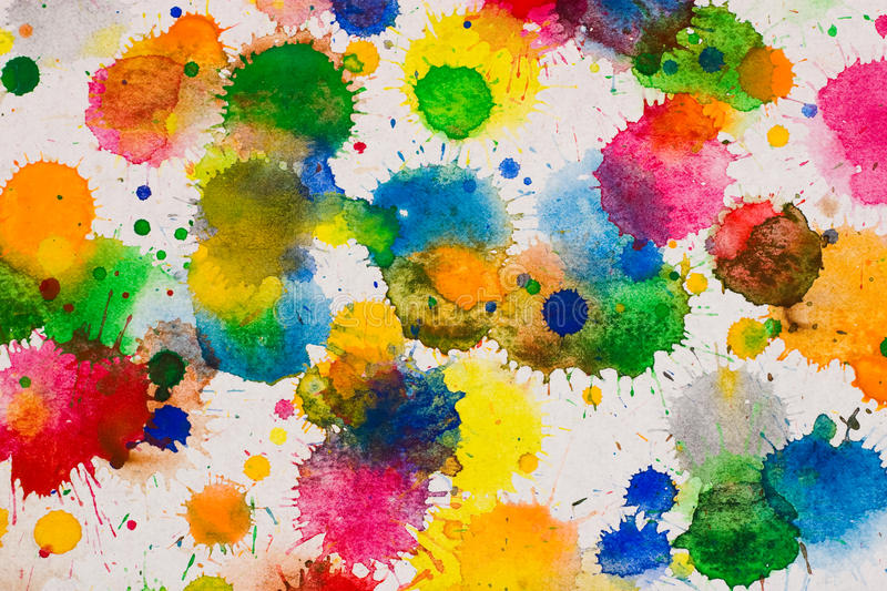 Download Watercolor background stock photo. Image of down, paints - 18336918