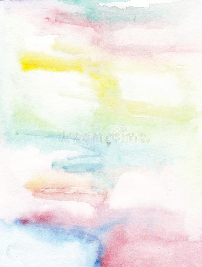 Watercolor background abstract bright walpapper color spot stock photo