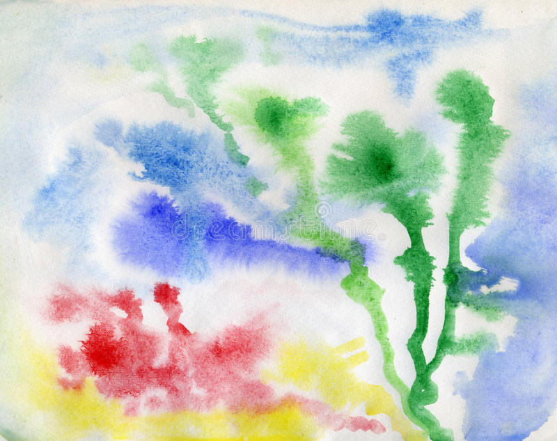 Download Watercolor background stock photo. Image of color, watercolor - 42220498
