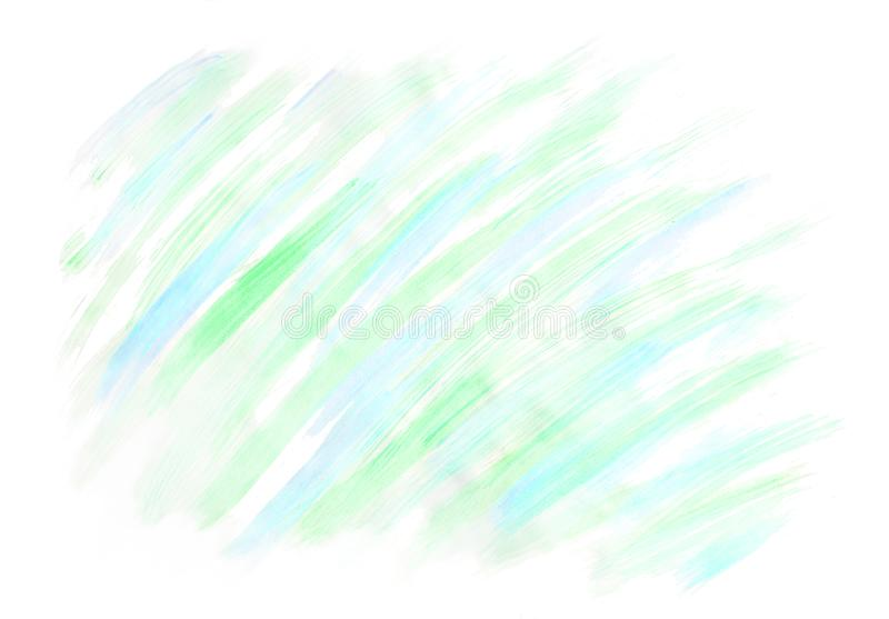 Watercolor background isolated on white for design drawn by brush. Abstract watercolor background. Stylish and modern background royalty free stock photo