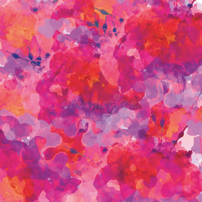 Watercolor background stock illustration