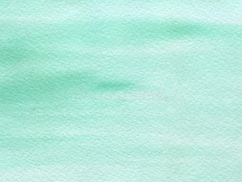 Watercolor background with paper texture stock image
