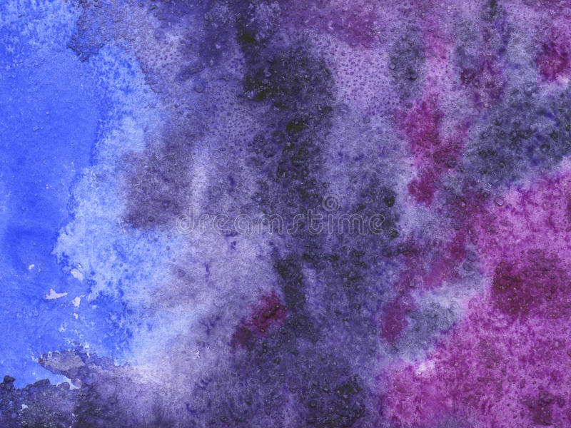 Watercolor background with paper texture royalty free stock image