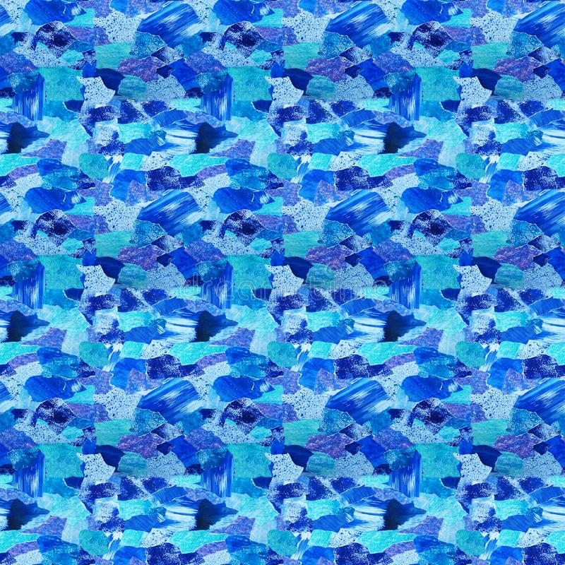 Watercolor background and texture, from a collection of watercolor paper. stock illustration