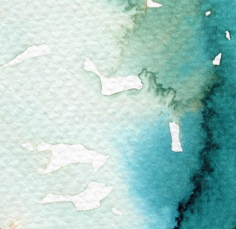 Watercolor background for websites royalty free illustration