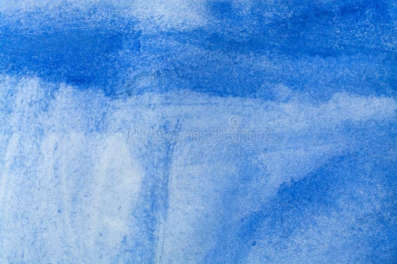 Watercolor background wet. Blue Abstract watercolor painted background art, paper stock photos