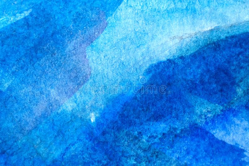 Watercolor background wet. Abstract watercolor painted background art, paper royalty free stock photography