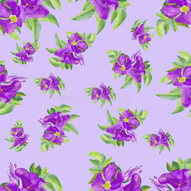 watercolor Blaue Rosen lokalisiert auf weißem Hintergrund Schöne von Hand gezeichnete Illustration für ursprünglichen Entwurf von vektor abbildung