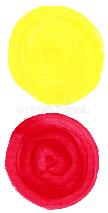 Download Watercolor blobs stock photo. Image of bright, artwork - 17788036