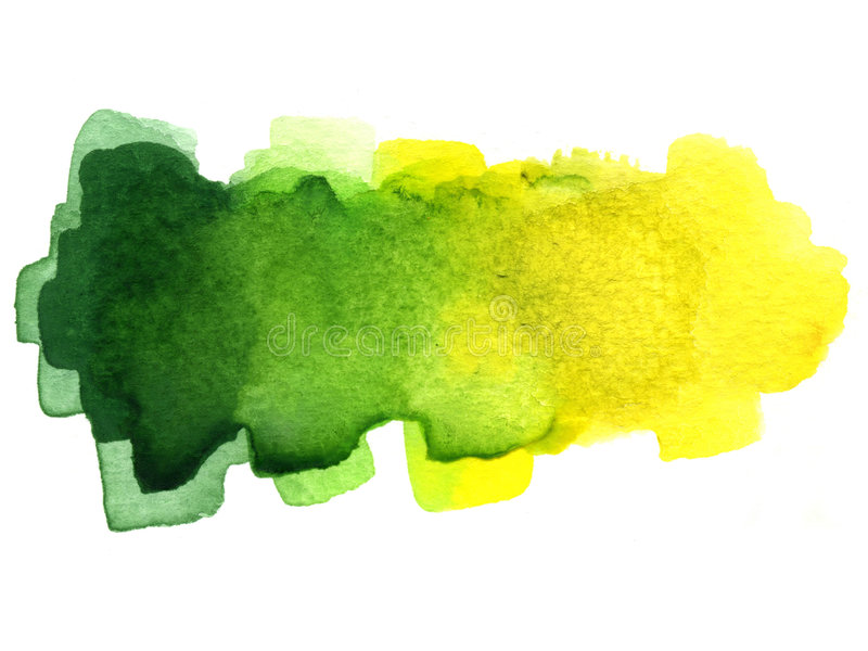 Watercolor blotch royalty free stock photography