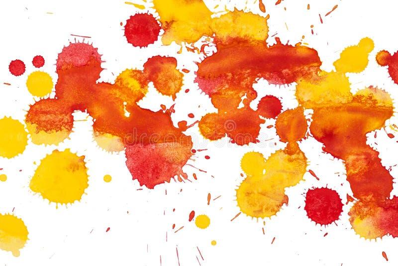 Watercolor blots background stock photos