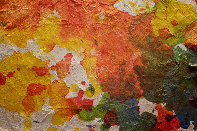 Watercolor blots background stock photography