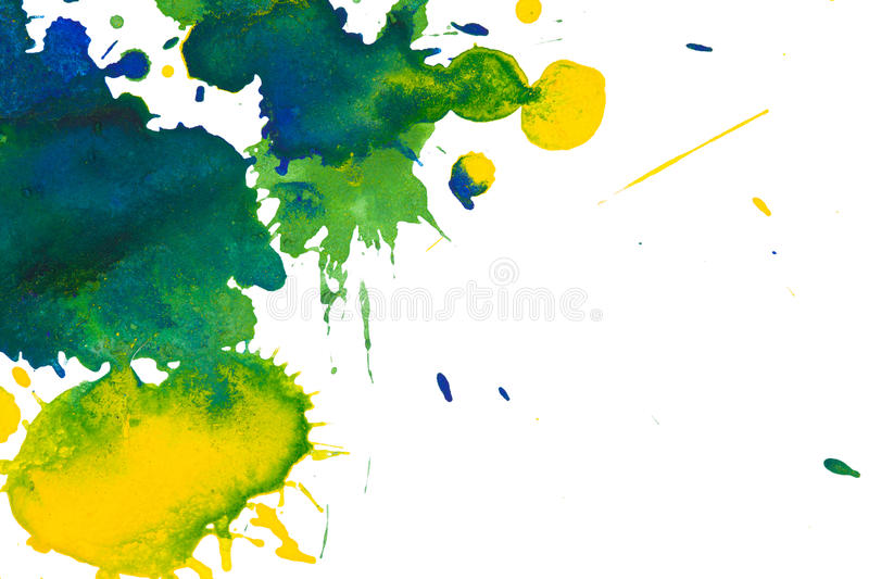 Watercolor blots background royalty free illustration
