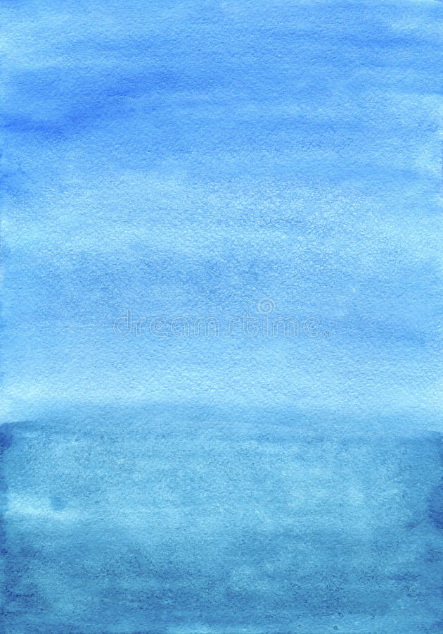 Free Watercolor Blue Hand Painted Background Royalty Free Stock Photos - 29244258