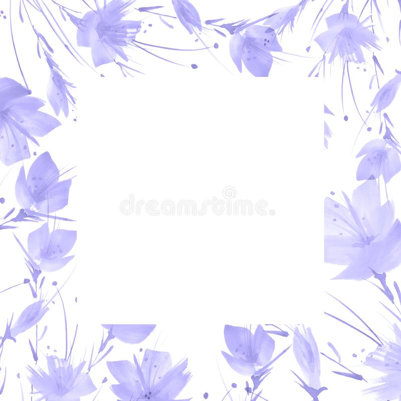 Watercolor bouquet of flowers.Floral background. vector illustration
