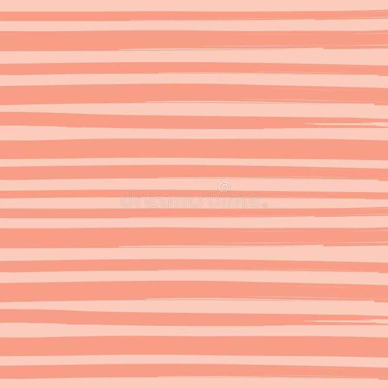 Free Watercolor Brush Orange Pant Stripes Pattern Background Royalty Free Stock Images - 90169989