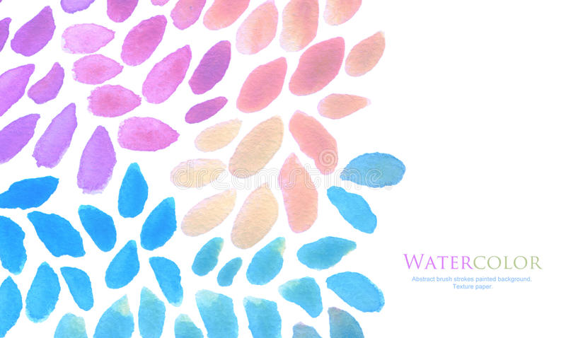 Watercolor brush strokes painted background. Abstract watercolor brush strokes painted background. Texture paper stock photos