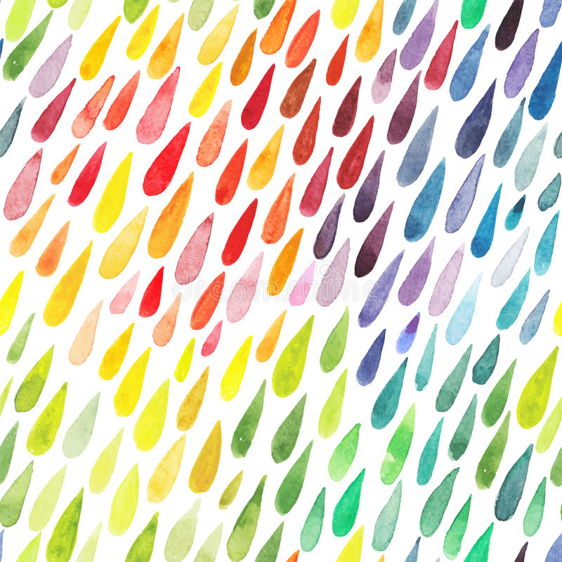 Download Watercolor Colorful Abstract Background. Collection Of Paint Spl Stock Vector - Image: 49598720