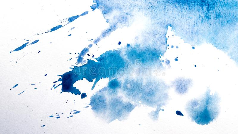 Watercolor drips. Abstract painting. Background royalty free stock images