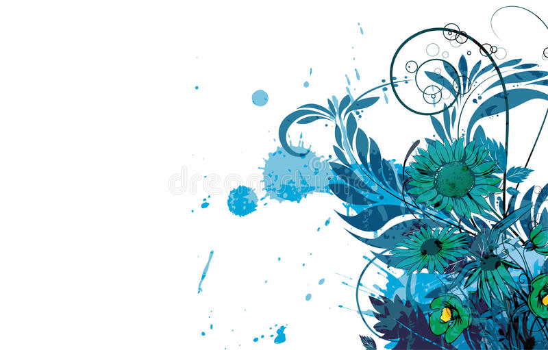 Download Watercolor Floral Background Stock Vector - Image: 24893363