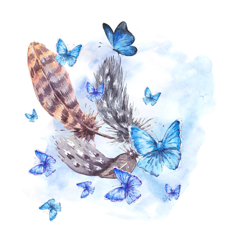 Image result for butterflies and feathers