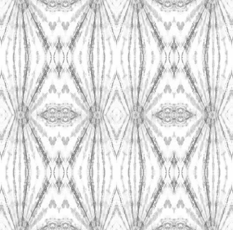 Tie Dye Pattern. Watercolor hand drawn batik. Summer ink japan illustration. Handmade watercolour shirt tie dye pattern. Aztec kaleidoscope texture. Tie Dye royalty free stock photo