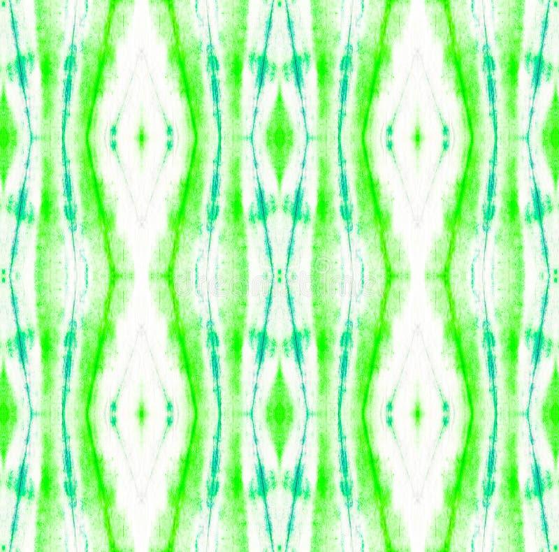 Tie Dye Pattern. Watercolor hand drawn batik. Summer ink japan illustration. Handmade watercolour shirt tie dye pattern. Aztec kaleidoscope texture. Tie Dye stock illustration