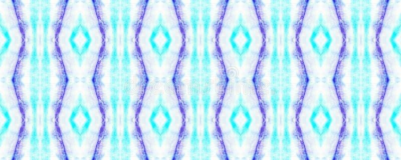 Tie Dye Pattern. Watercolor hand drawn batik. Summer ink japan illustration. Handmade watercolour shirt tie dye pattern. Aztec kaleidoscope texture. Tie Dye vector illustration