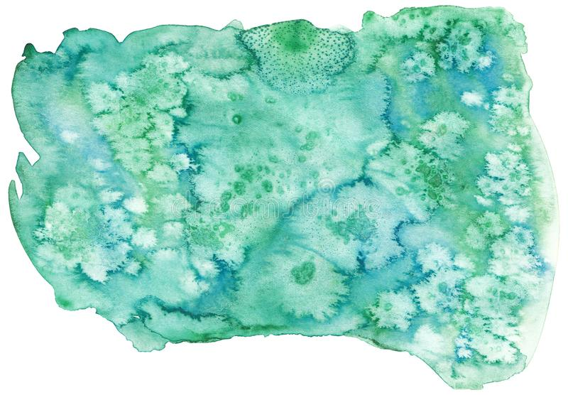 Watercolor hand drawn salted texture royalty free illustration