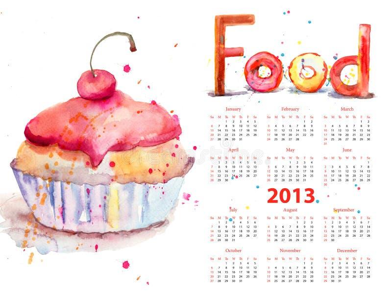 Download Watercolor Illustration Of Cake Stock Illustration - Image: 28336251