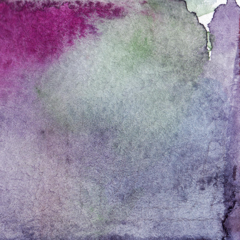 Free Watercolor Lilac Violet Purple Lavender Green Abstract Paper Texture Background Stock Image - 98478711