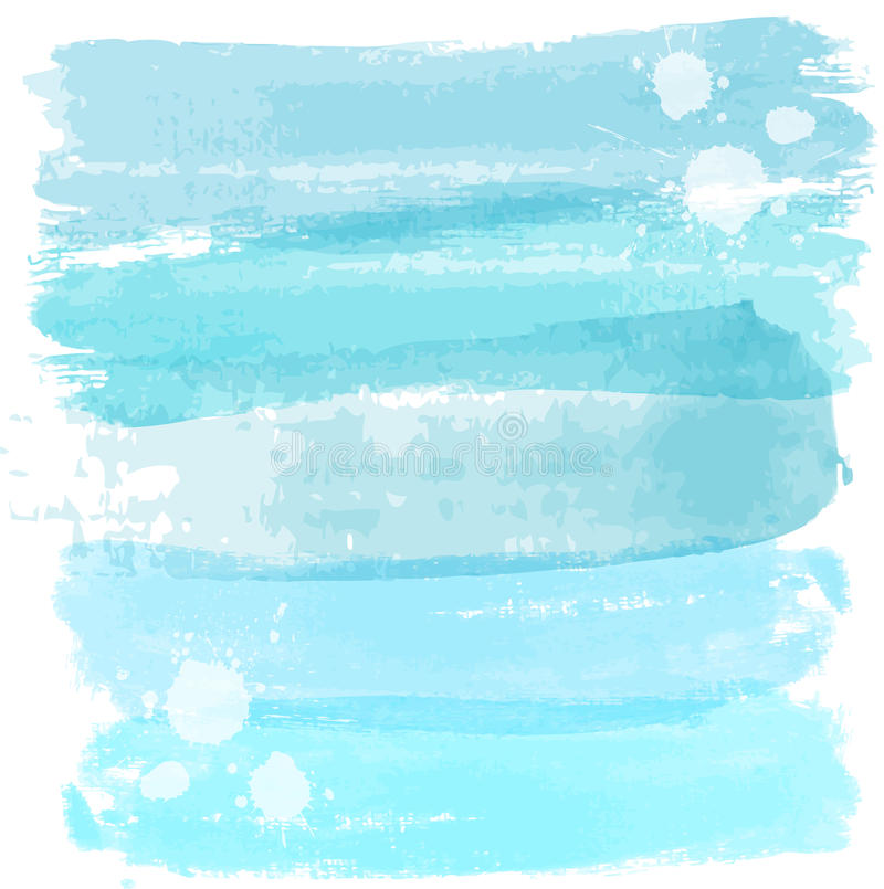 Watercolor lines background stock illustration
