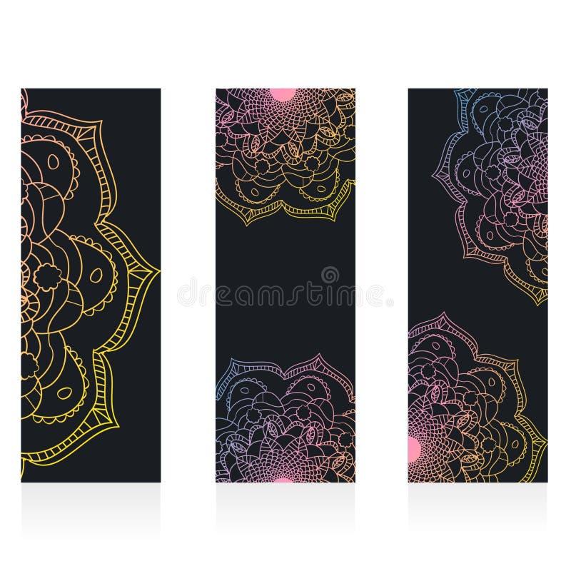 Watercolor mandala, Decor for your design, vector illustration