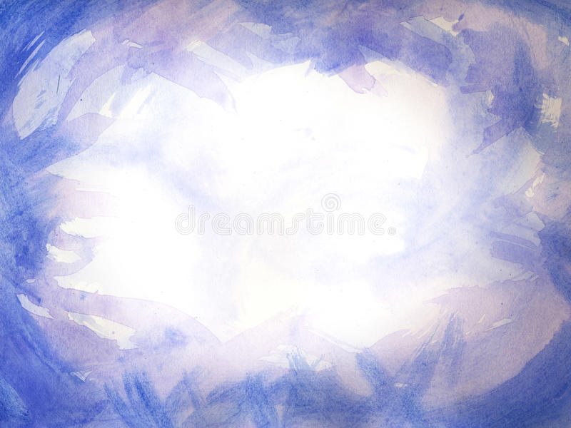 Watercolor Paint Frame stock photo. Image of brush, trace - 34278378