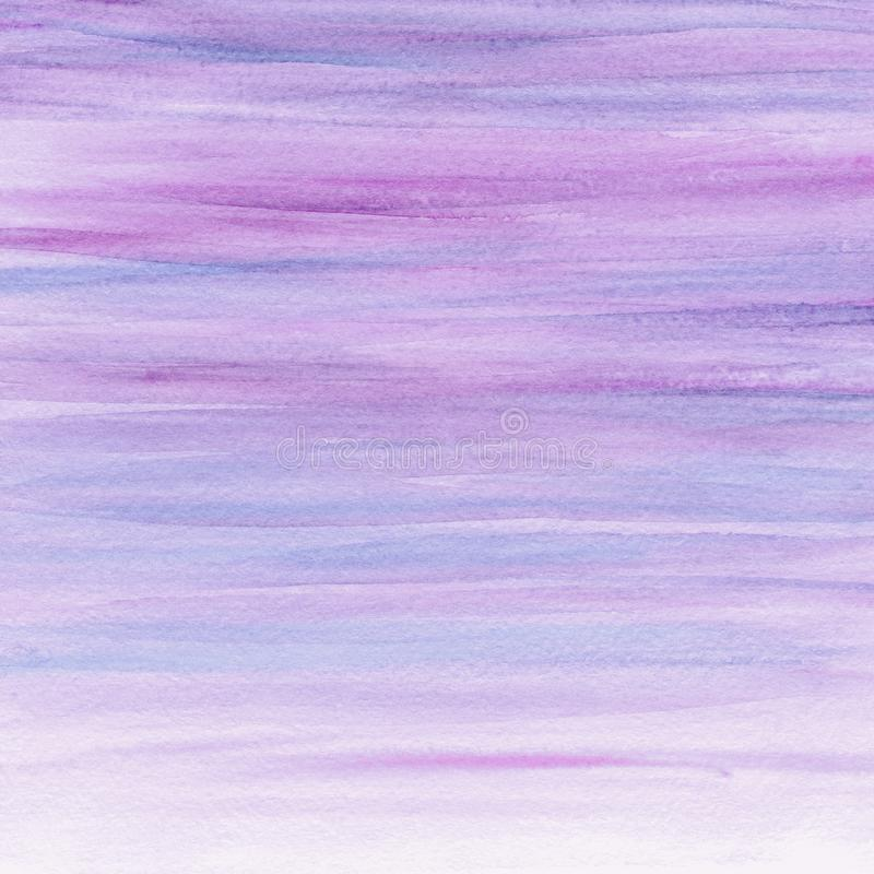 Abstract watercolor lilac background. Watercolor paint. Watercolor texture royalty free stock photos