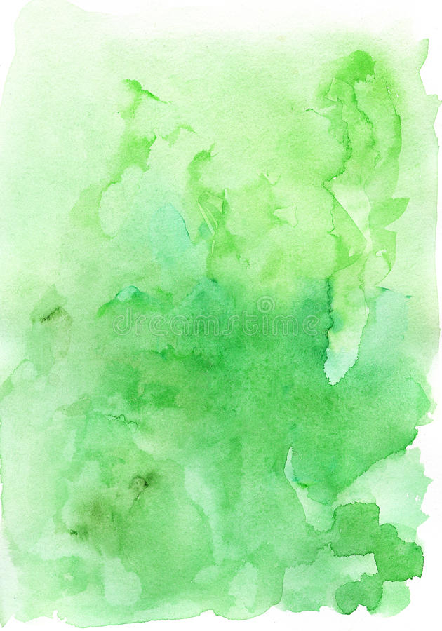 Green Lamp Painting : Watercolor painting background stock photos image