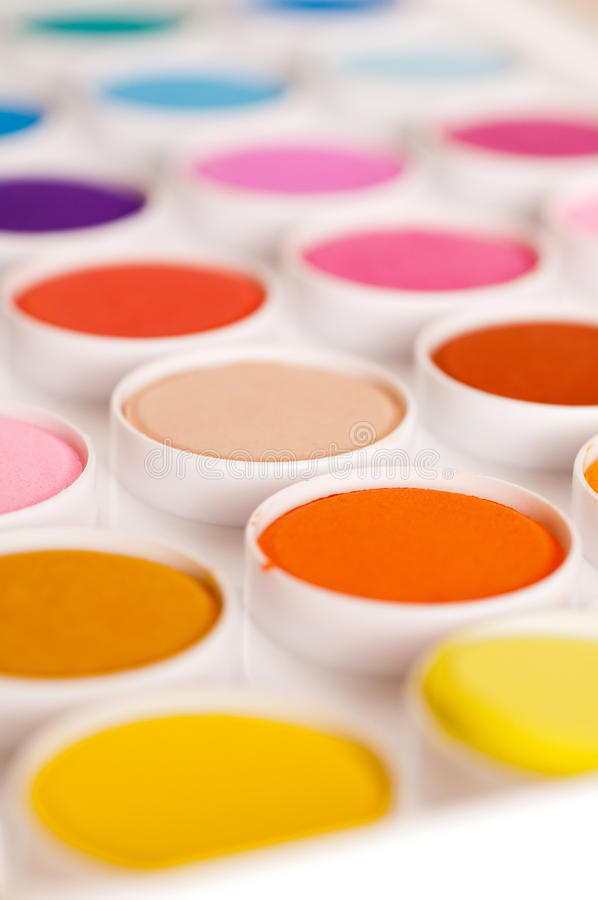 Download Watercolor Paints stock image. Image of water, watercolor - 23773109