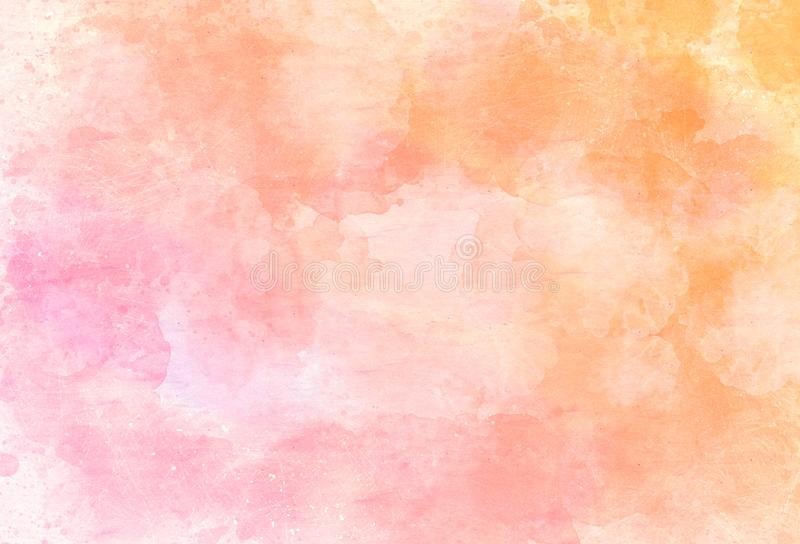 Watercolor pattern background. vintage style illustration art modern colorful abstract design.  royalty free stock photo