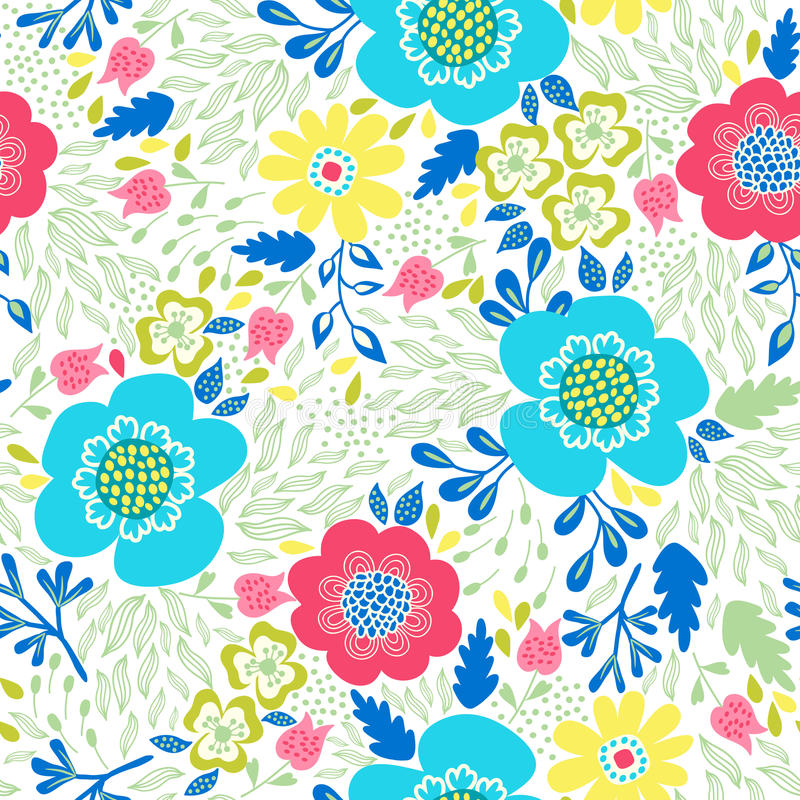 Watercolor pattern royalty free illustration