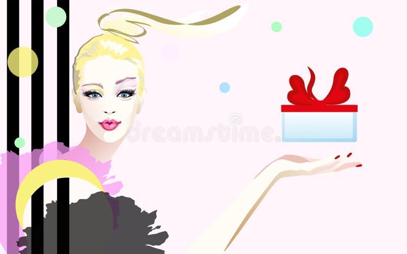 Watercolor portrait surprised girl , fashion art. Abstract watercolor portrait surprised girl , fashion art, beauty. Color vector prints, Makeup, colorful vector illustration