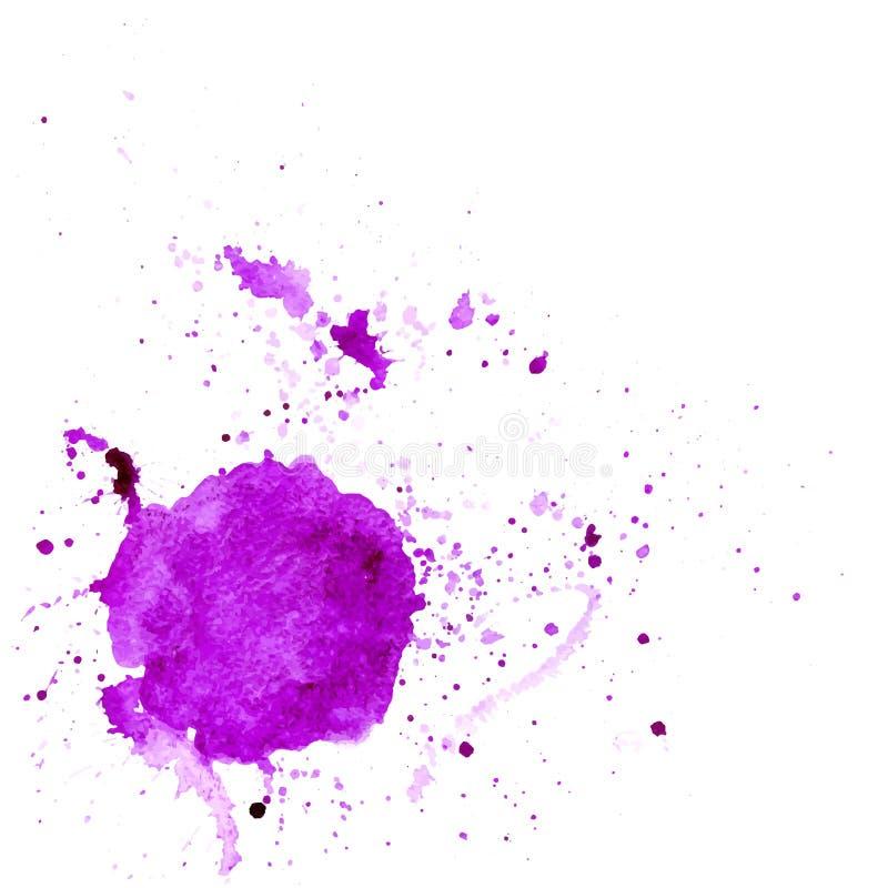 Watercolor spot stock illustration