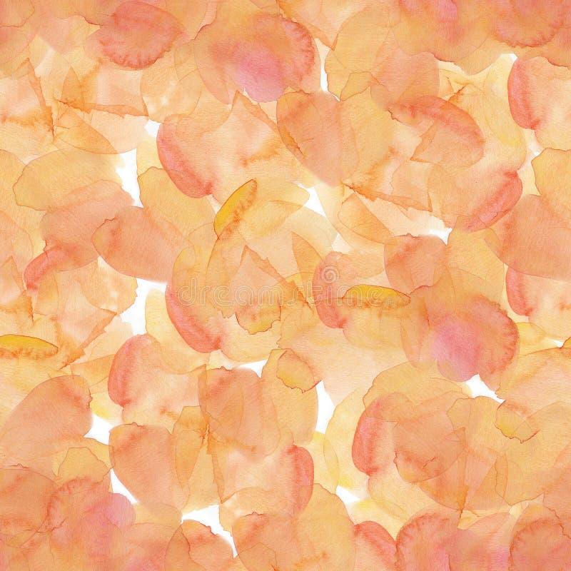 Watercolor spots. Hand drawn illustration. Fullsize raster atrwork. royalty free stock photos