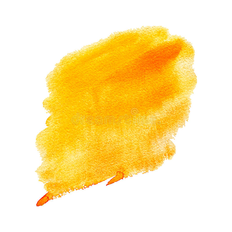Watercolor stain stock illustration