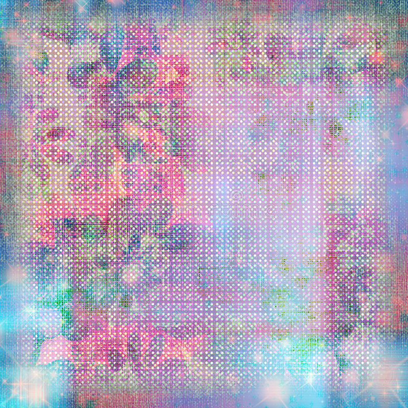Free Watercolor Tapestry Pastel Grunge Background Royalty Free Stock Photo - 779405