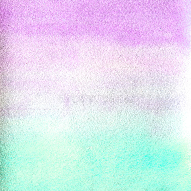 Watercolor texture transparent marble pink and blue color. watercolor abstract background. horizontal gradient. Watercolor texture transparent marble pink and royalty free illustration